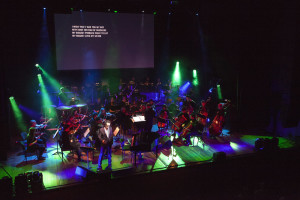 Tim Passes at the Odeon with the Arco Set Orchestra. June 2014